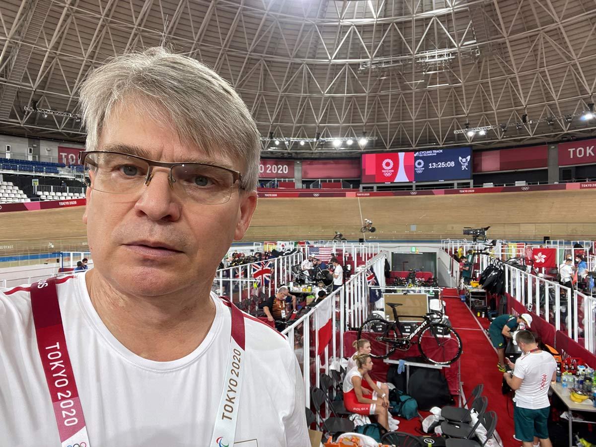 dr n. med. Robert Pietruszyński po raz kolejny został lekarzem polskiej reprezentacji olimpijskiej na igrzyskach olimpiskich