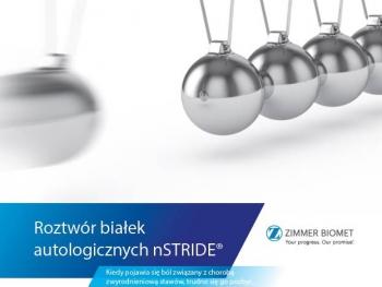 CMS jako pierwszy ośrodek w Polsce rozpoczął stosowanie terapii iniekcji dostawowej nStride
